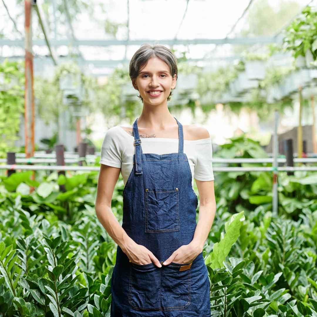 An Aussie greenhouse gardener